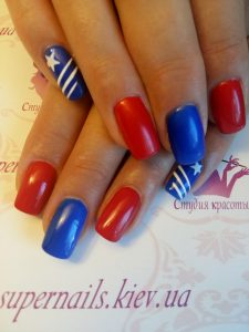 американские ногти