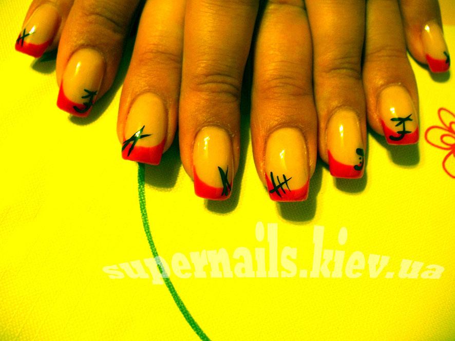 японские ногти киев позняки