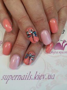дизайн ногтей камнями сваровски
